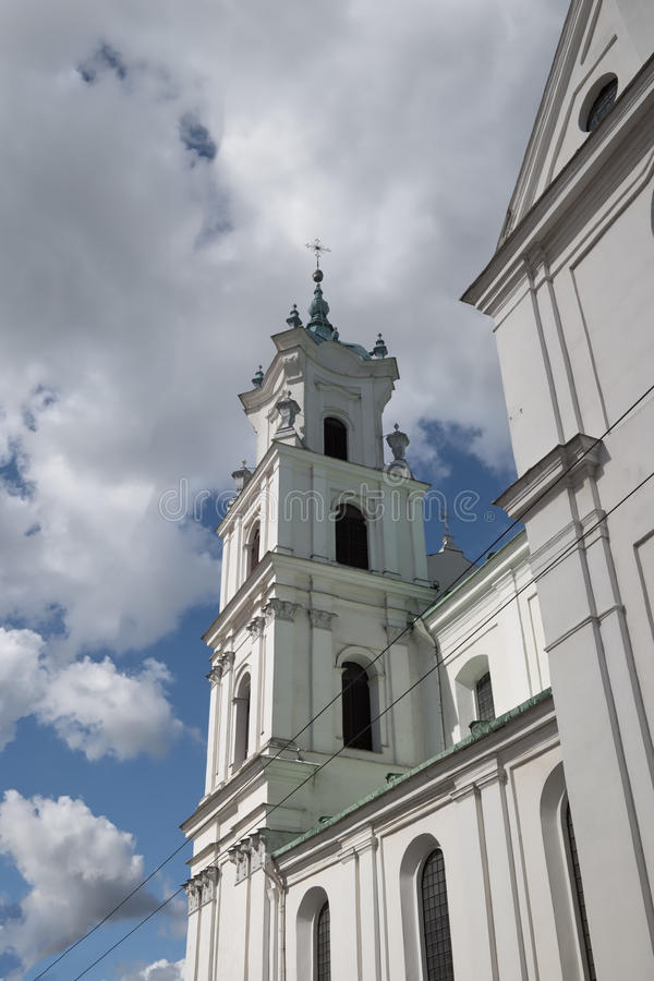St Francis Xavier Cathedral, Grodno stock foto