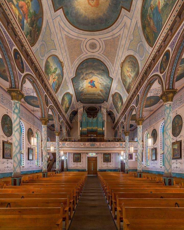 St Francis Xavier Church royalty-vrije stock afbeeldingen