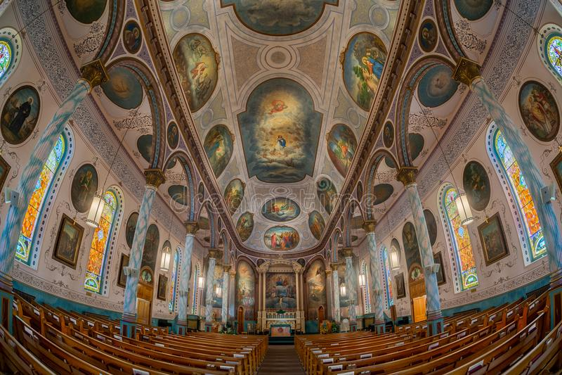 St Francis Xavier Church stock fotografie