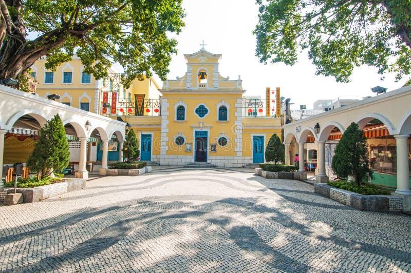 St Francis Xavier Church fotos de archivo libres de regalías