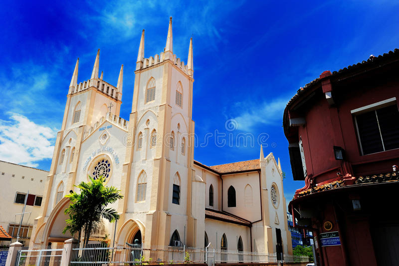 St Francis Xavier Church royalty-vrije stock afbeelding