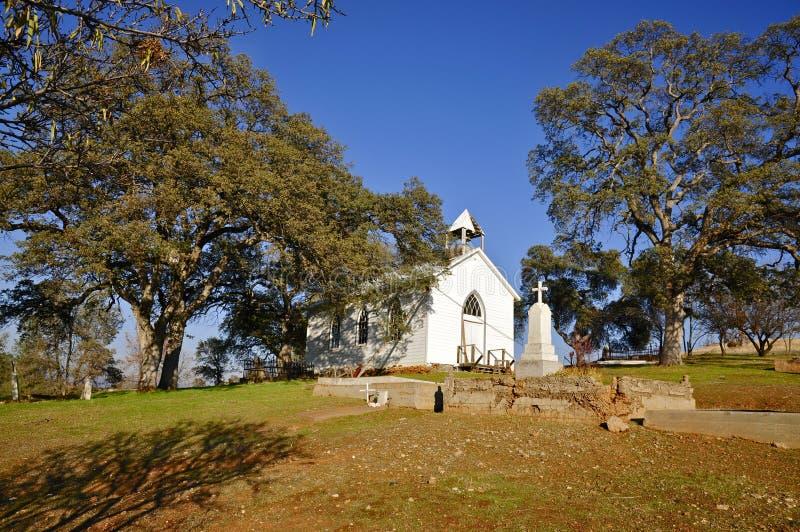 St. Francis Xavier Church; Chinesische Lager-Geisterstadt lizenzfreie stockfotos
