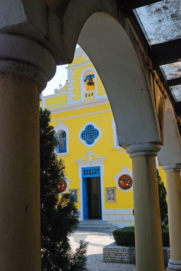 St Francis Xavier Church, Colonae, Macau foto de stock
