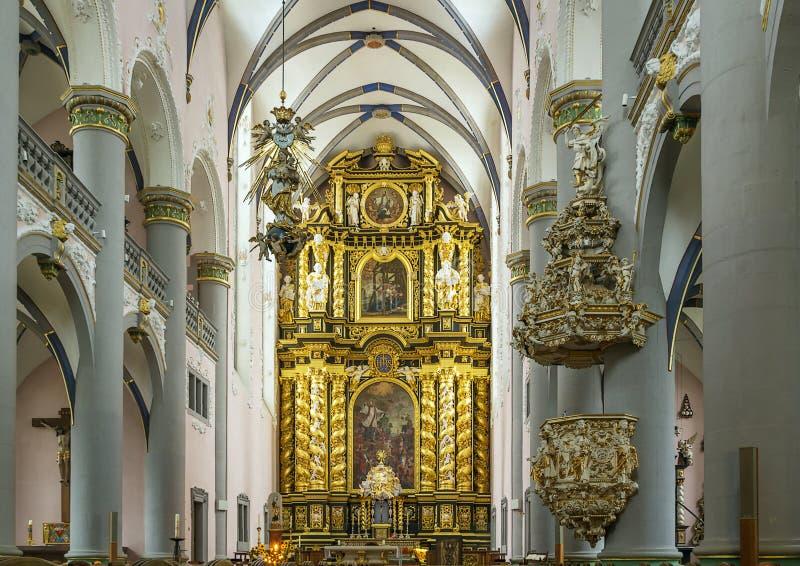 St. Francis Xavier Church, Paderborn, Deutschland stockbilder