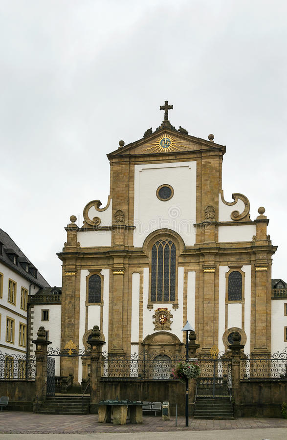 St Francis Xavier Church, Paderborn, Germania fotografia stock