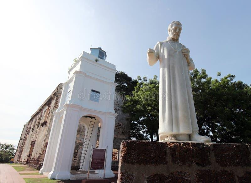 St Francis Xavier standbeeld stock afbeelding