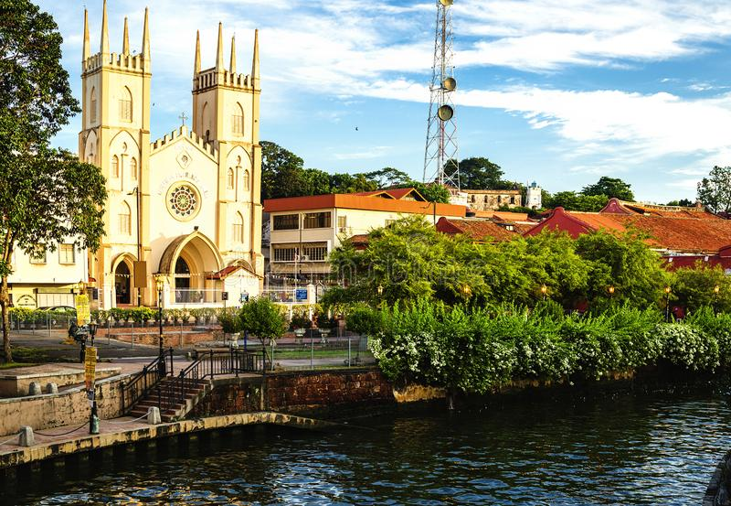St Francis Zavier Malacca royalty-vrije stock foto's
