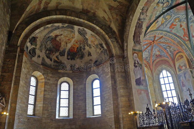 St George Basilica, Prague, République Tchèque photographie stock libre de droits