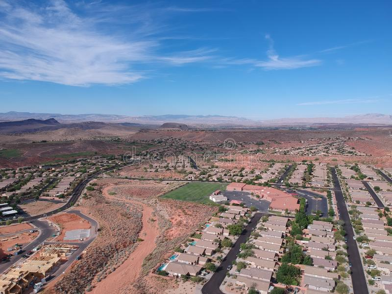 St George bei Utah stockbilder