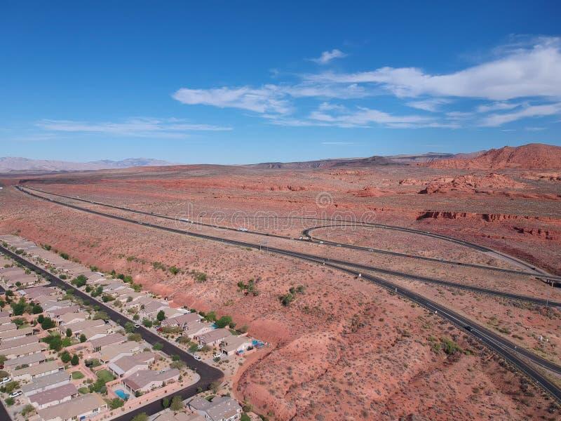 St George bei Utah stockfotos