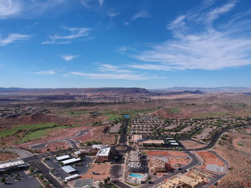 St George bei Utah stockfoto