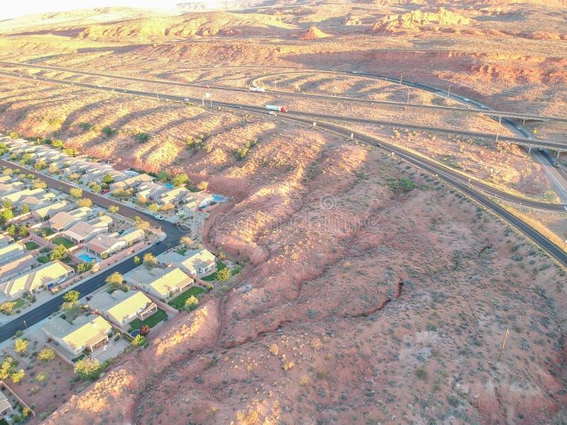 St George bei Utah lizenzfreies stockfoto
