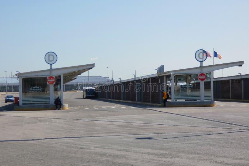 St. George Bus Terminal lizenzfreie stockbilder