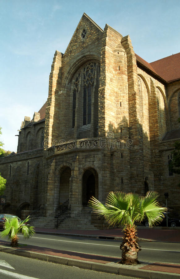 St George Cathedral, Cape Town, Zuidafrikaanse Republiek royalty-vrije stock fotografie