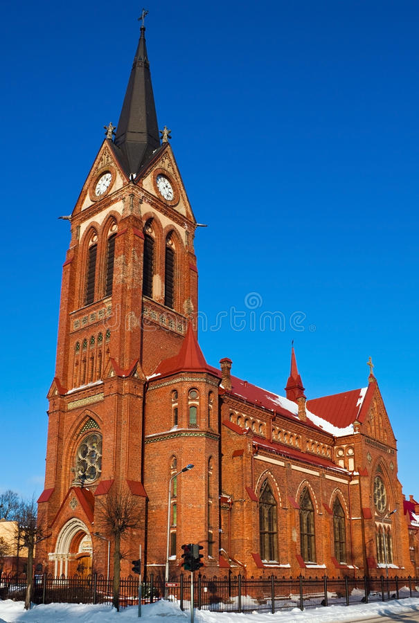 Free St.George Cathedral In Jelgava Royalty Free Stock Photos - 18336118