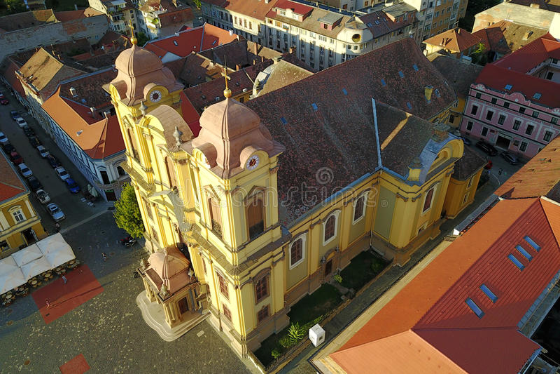St George Cathedral, Timisoara, Romania stock photo