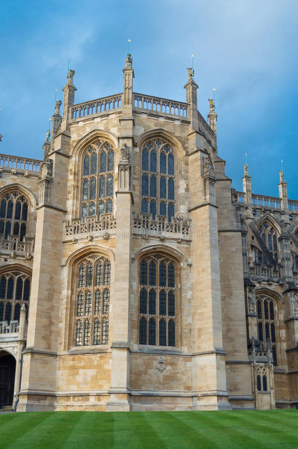St. George Chapel at Windsor stock photos