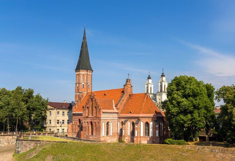 St George Church in Kaunas royalty-vrije stock afbeelding