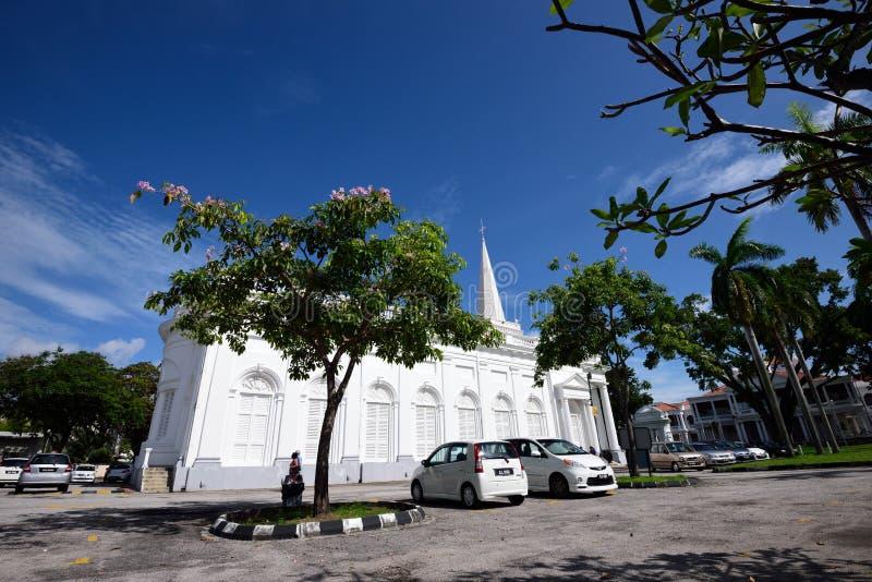 St George Church, Penang, Malasia fotografía de archivo libre de regalías