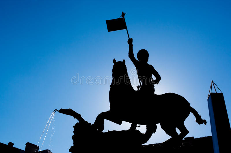 Download St. George and the Dragon stock photo. Image of mythology - 13172050