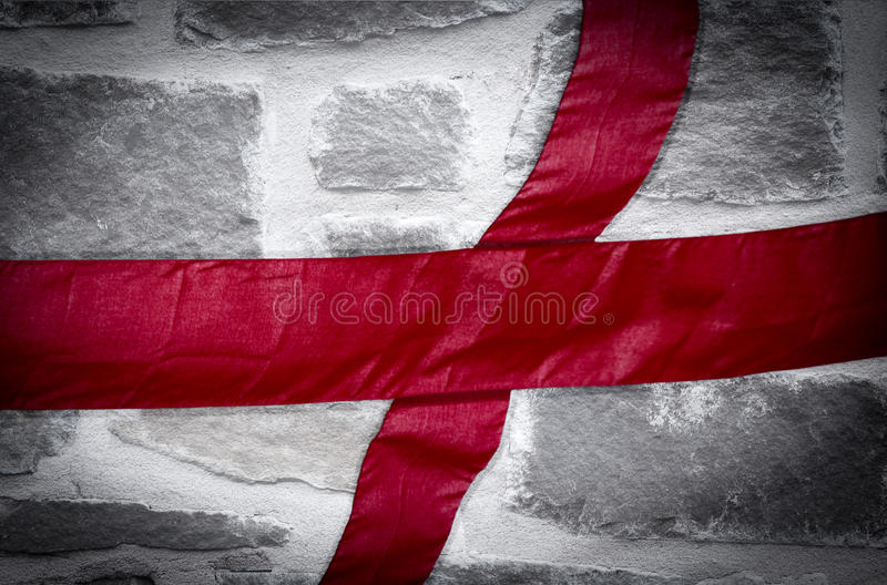 St George Flag English Flag photo libre de droits