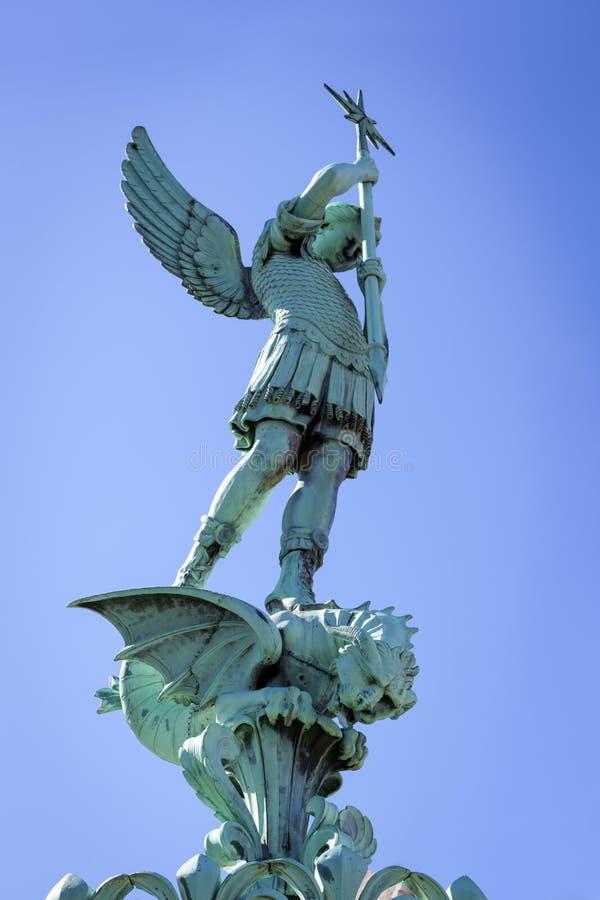 St George Fourviere Basilica Lyon France royalty-vrije stock foto