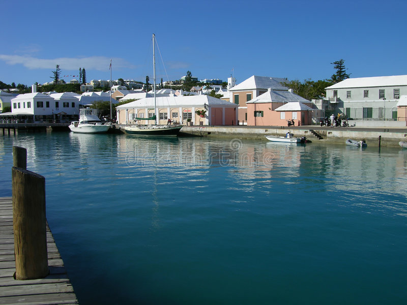 Download St. George Harbour Royalty Free Stock Photography - Image: 504097