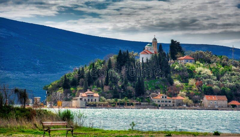 St George Island Montenegro photographie stock libre de droits