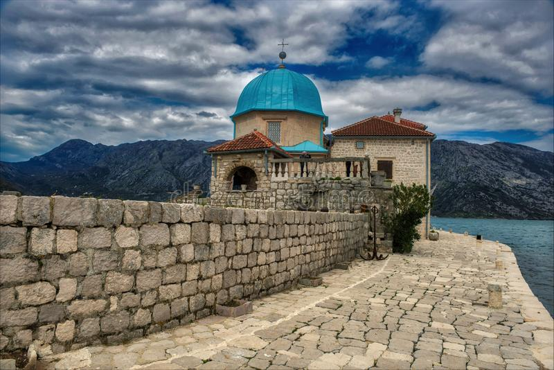 St George Island Montenegro stock photography