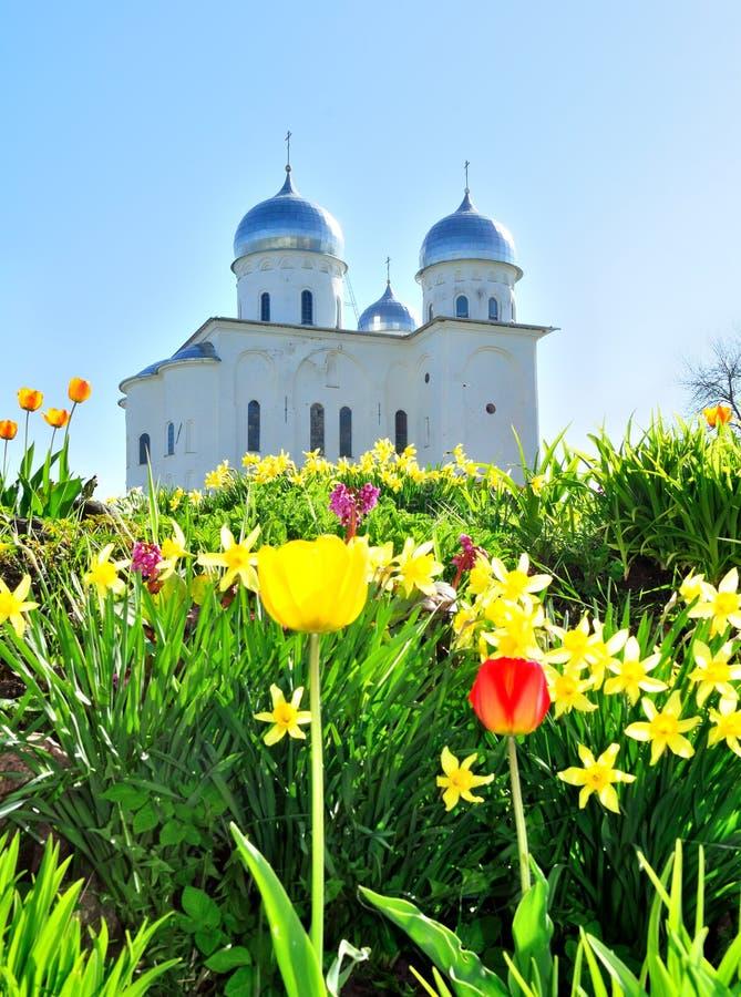 St George Kathedraal stock foto