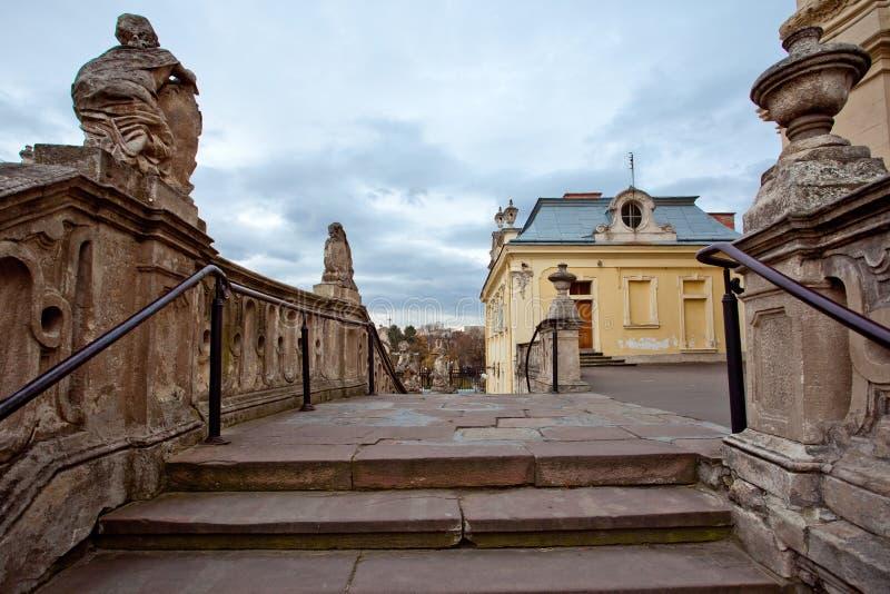 St. George kerk in Lvov de Oekraïne royalty-vrije stock afbeeldingen