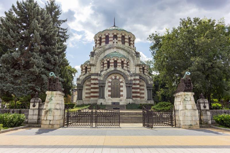 St George le mausolée de chapelle de conquérant images libres de droits