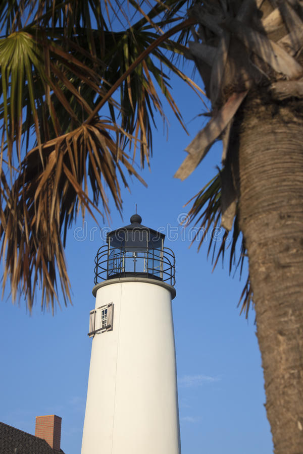 St. George Lighthouse. North Florida royalty free stock photos