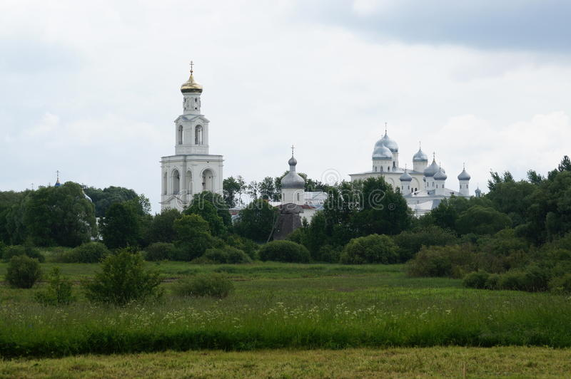 St. George monastery — one of the oldest monasteries of Russia. royalty free stock images