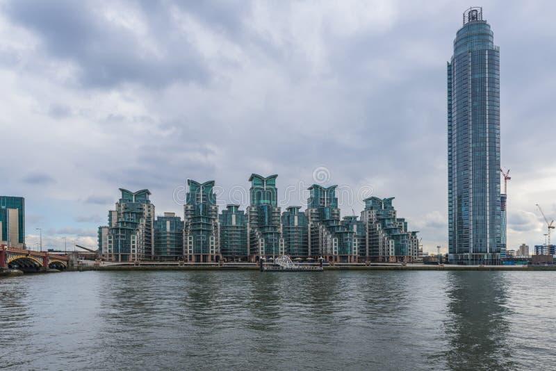 St George nabrzeże, Londyn, UK zdjęcia royalty free