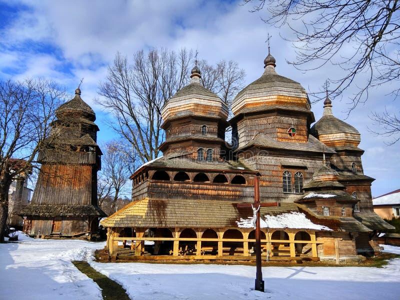 St George Orthodox Church dans Drohobych, Ukraine image stock