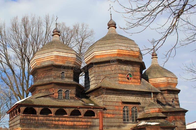 St George Orthodox Church in Drohobych, de Oekraïne royalty-vrije stock foto's