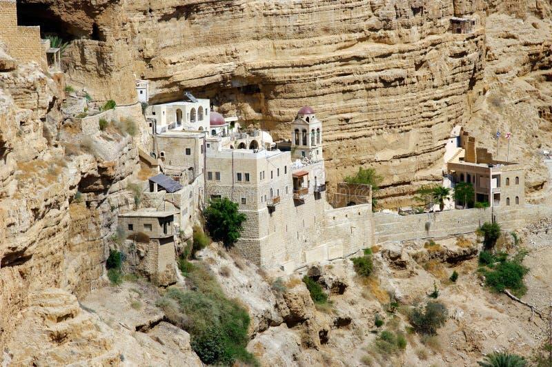 St. George Orthodox Monastery. arkivfoton