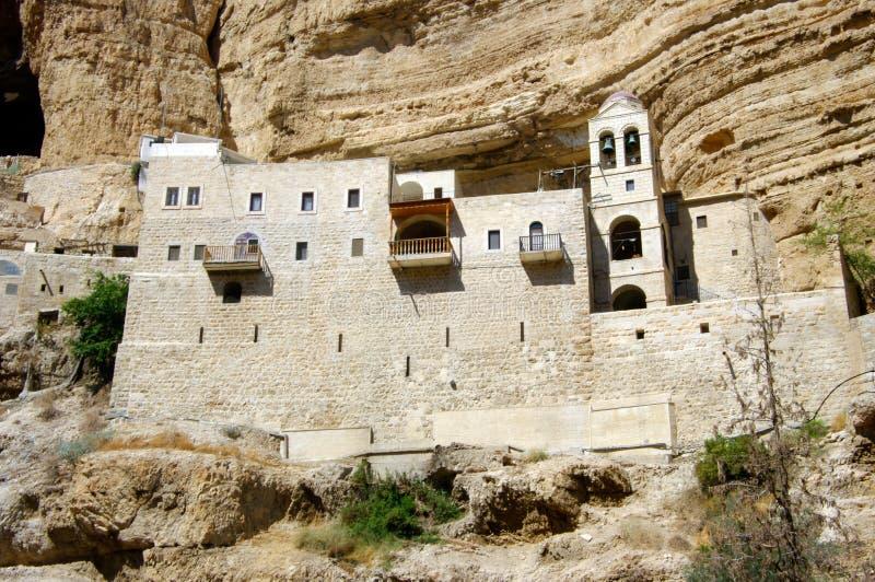 St. George Orthodox Monastery. royaltyfri fotografi