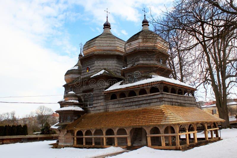 St George Ortodoksalny kościół w Drohobych, Ukraina zdjęcia royalty free