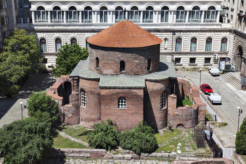 St George Rotunda kerk Sofia Bulgaria royalty-vrije stock afbeeldingen