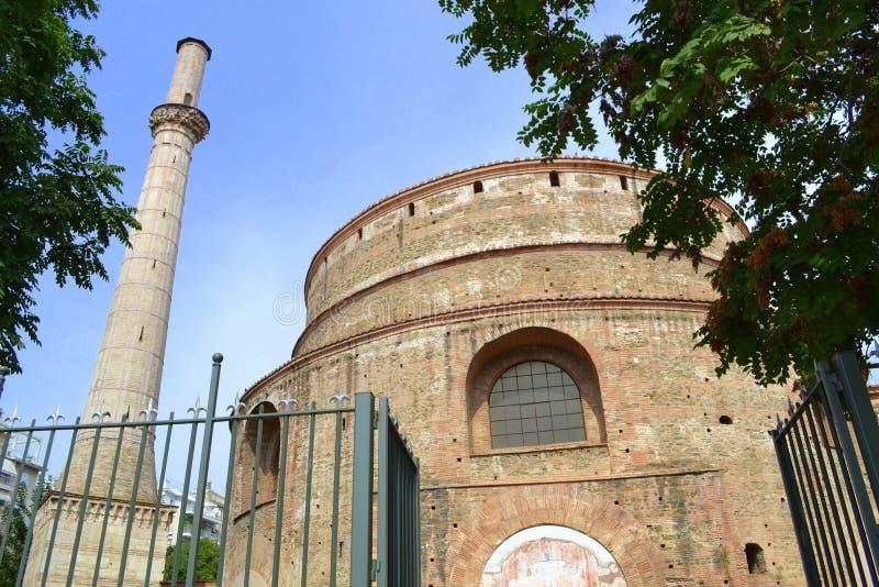St George rotunda Saloniki obrazy stock