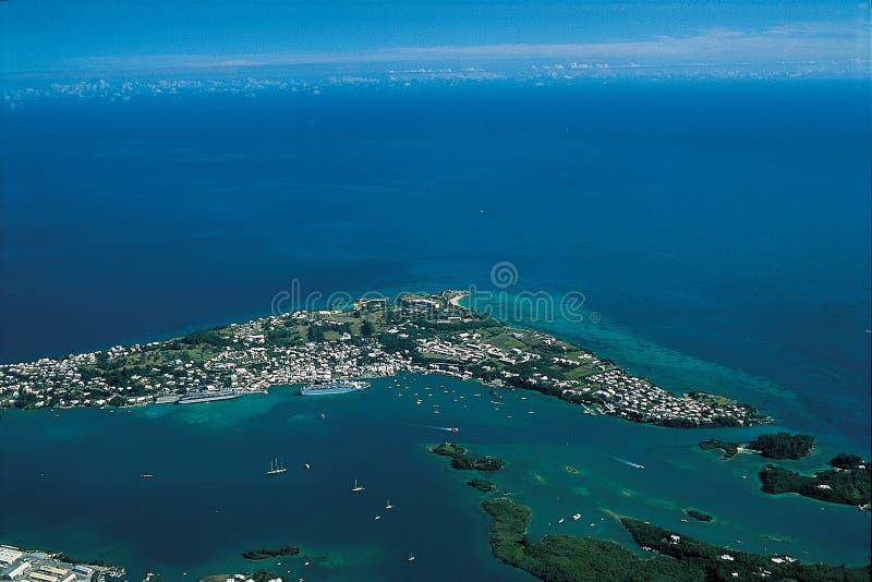 St. George`s Bermuda stock image