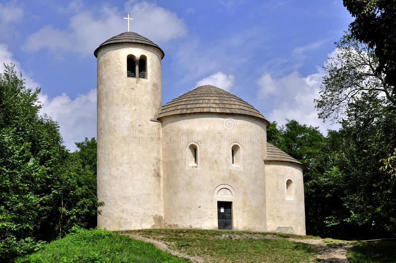 St. George s Chapel on Mount Rip. St. George's Chapel on Mount Rip - Czech Republic stock photography