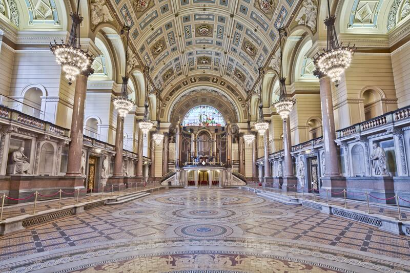 St George's Hall royalty free stock image