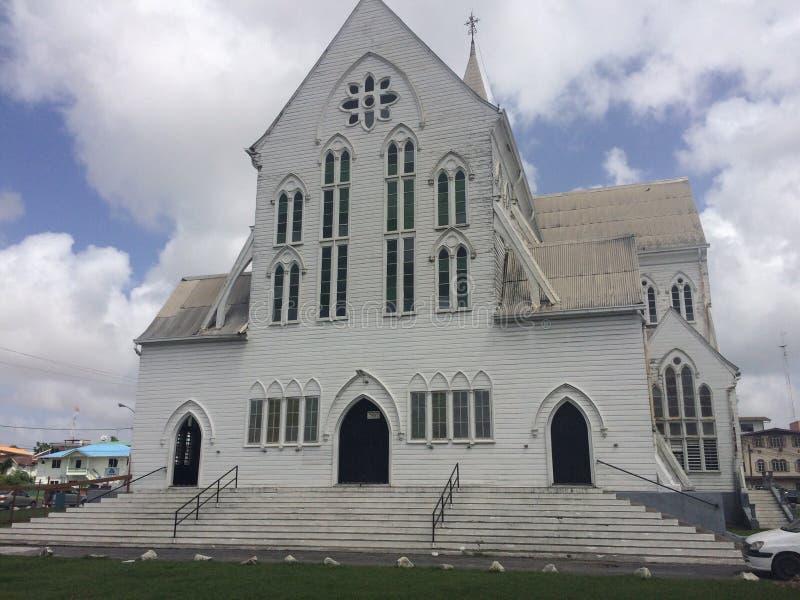 St George& x27; s Katedralny Georgetown Guyana zdjęcie stock