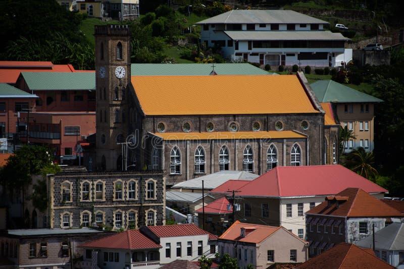 St George ` s Kathedraal, Grenada royalty-vrije stock fotografie