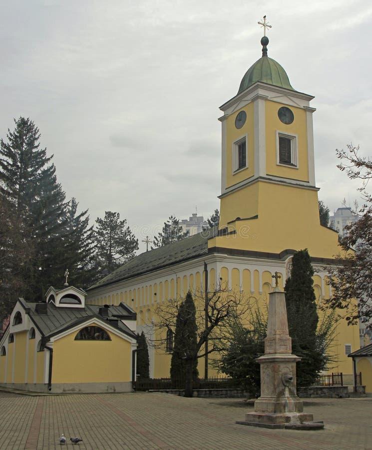 St George ` s Kerk in Uzice royalty-vrije stock foto