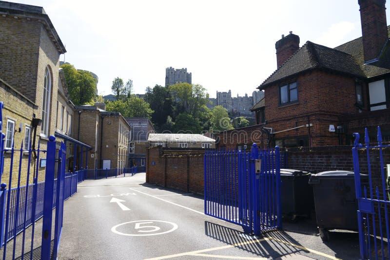 St George`s School Windsor Castle arkivfoton
