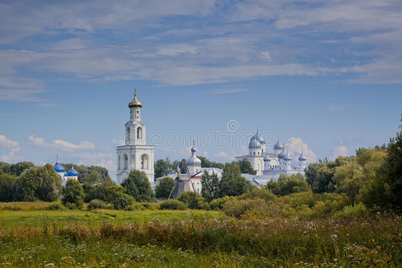 The St. George's (Yuriev) Monastery stock images